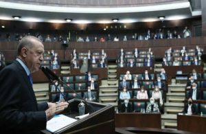 'AKP grubundan yoğun alkış alan cümleler'