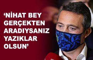 Ali Koç TFF'yi topa tuttu: Türk futbolu için rezalettir