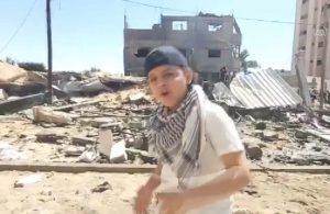 13 yaşındaki Filistinli çocuk rap şarkıyla dünyaya seslendi: Acıyı görmek istiyorsan insanların yüzlerine bak