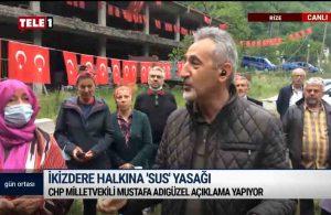 CHP'li Adıgüzel İkizdere'de: Halkını satanın korkusu hiç kimsenin korkusuna benzemez | GÜN ORTASI