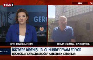 CHP'li Bekaroğlu: Bu iş sadece Mehmet Cengiz için yapılamaz, arkasında başka kişiler de olabilir – GÜN ORTASI