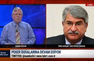Sağlar'dan Peker'in videosuna olay yorum: Erdoğan da…