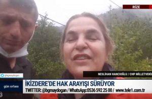 İkizdere'de hak arayışı sürüyor: CHP'li Hancıoğlu son gelişmeleri aktardı – GÜN ORTASI