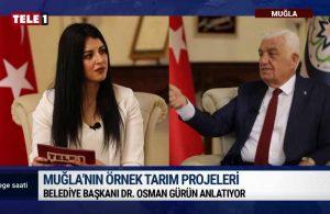 Muğla Büyükşehir Belediye Başkanı Gürün, 'Ege Saati'nde – EGE SAATİ