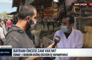 TELE1 ekibi Mısır Çarşısı'nda: Ben lokuma bakıyorum, lokum bana bakıyor | GÜN ORTASI