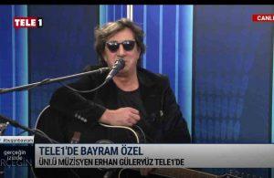 Erhan Güleryüz unutulmaz şarkıları ve samimi sohbetiyle TELE1'de   GERÇEĞİN İZİNDE