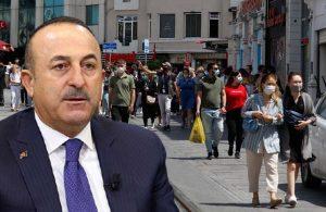 Çavuşoğlu'na turist tepkisi: Eskiden uslu bir çocuk olursak…