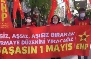 Ankara'da 1 Mayıs eylemine polis müdahalesi: 11 gözaltı