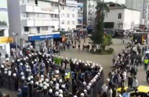 Hopa'da çay üreticilerine polis müdahalesi: 3 kişi hastanelik oldu