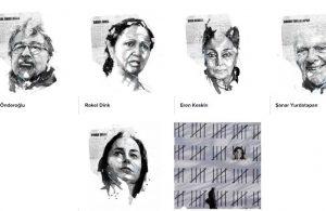 Rakel Dink ve Eren Keskin dahil 6 kişinin portresi IFEX sergisinde