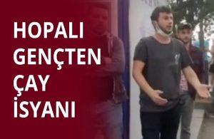 Hopalı genç: Biz AKP gençlik kollarına yalvarmayacağız
