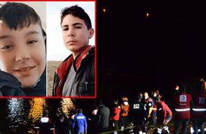 14 yaşındaki iki çocuğun cansız bedeni baraj göletinde bulundu