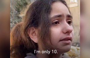 Evi bombalanan Filistinli çocuk: Daha 10 yaşındayım, neden füze atarak çocukları öldürüyorsunuz?