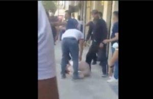 Tunceli'de korkunç görüntüler! Yere yatırdıkları kadının başına silah dayadılar iddiası