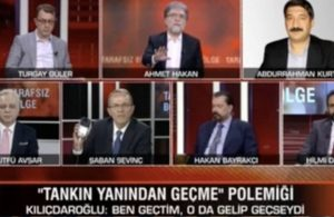 CNN Türk canlı yayınında tartışma: Siz utanmaz bir adamsınız