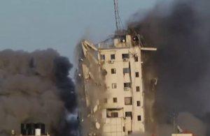 İsrail'in saldırısına Hamas'tan misilleme