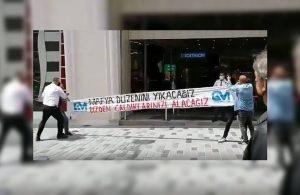 İstiklal'de eylem yapan gençlere gözaltı: Mafya düzenini yıkacağız