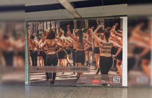 FEMEN'den eylem