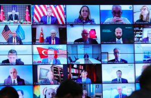 Murat Yetkin ABD'li yöneticilerle toplantı yapan Erdoğan'ın özel talebini yazdı