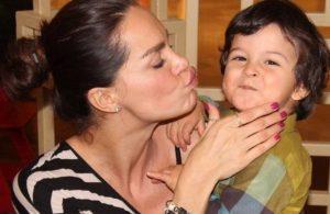 Ebru Şallı oğlu ile ilgili gerçeği ilk kez açıkladı