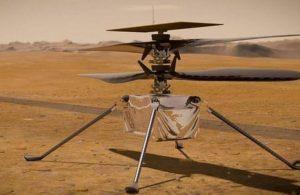 Mars helikopteri başarılı iş çıkarıyor