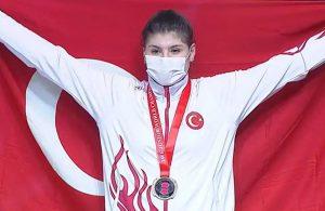 Milli halterci Dilara Uçan, dünya ikincisi oldu