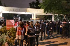 Boğaziçi öğrencilerinden çadır nöbeti! Boğaziçi'nde polis kuşatması
