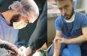 38 derece ateşle çalışırken darp edilen doktor, Bakan Koca'ya seslendi