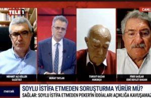 Fikri Sağlar: Süleyman Soylu istifa etmeden bu iddialar açığa çıkamaz
