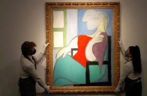 Picasso'nun tablosu 103 milyon dolara satıldı