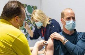 Prens William koronavirüs aşısı oldu