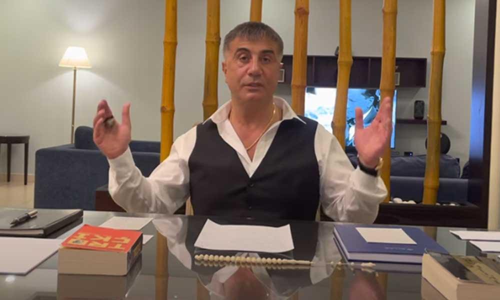 Cemil Çiçek'ten Sedat Peker çıkışı