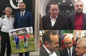 Jandarma Genel Komutanı Arif Çetin ve Erdoğan'ın dünürü, çete lideriyle aynı karede