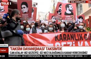Taksim Dayanışması Gezi'nin 8. yılında Taksim'de toplandı