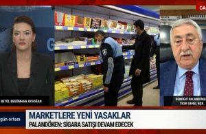 TESK Başkanı Palandöken: Sigara satışı yapılacak