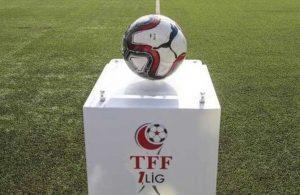 TFF 1.Lig'de şampiyonluk heyecanı son haftaya kaldı! Küme düşen takımlar kesinleşti