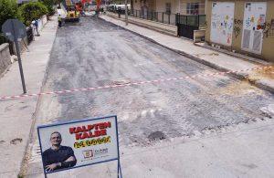 Tarsus Belediyesi yol yapım ve onarım çalışmalarını tüm hızıyla devam ettiriyor