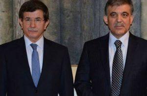 Davutoğlu: Abdullah Gül'ün adaylığı için bana geldiler