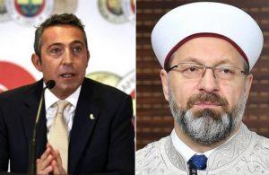 Ali Koç'tan Diyanet'e mektup: Kırgınım