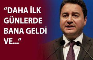 Babacan, bakan olduğu dönemde Erdoğan ile yaşadıklarını anlattı