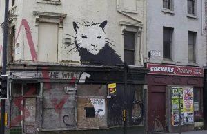 Banksy'nin 'Beyaz Saray Sıçanı' rekor fiyata satıldı