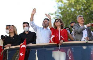 Bayraklı'da 19 Mayıs coşkusu mahallelerde yaşandı