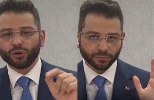 Fahrettin Altun'un yardımcısının beden dili ve İngilizcesi alay konusu oldu