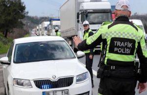 İstanbul'da 'çakarlı araç' denetimi
