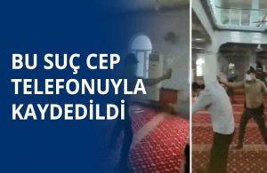 Camide ayakkabılarıyla biber gazlı müdahalede bulunan polislerden biri açığa alındı