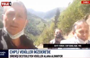 CHP'li vekiller İkizdere'ye alınmadı