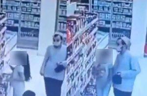 Cübbeli sarıklı erkek markette çocuğu taciz etti