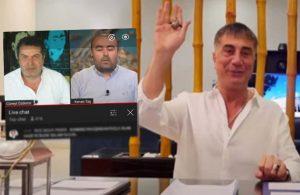 Sedat Peker bu kez de Cüneyt Özdemir'in yayınına yorum yazdı