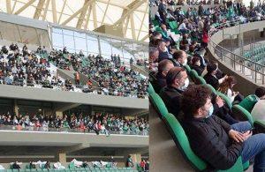 Tam kapanmaya rağmen tribünleri dolduran Adana Demirspor ve Giresunspor'a teşvik gibi ceza!