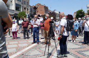 Trakya halkı Saros Körfezi için ayağa kalktı